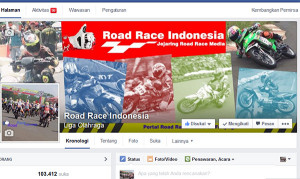 Road Race Indonesia 1st post