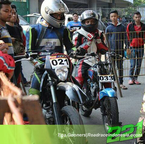 Spy Shot…. Honda CB Ngesoott.. di Road Race Solo | road race indonesia