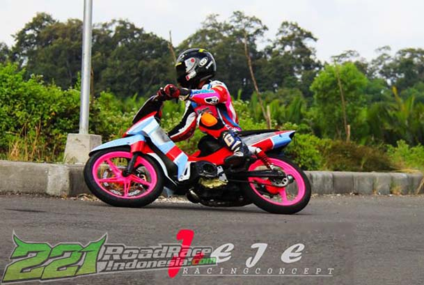 Latihan road race motoprix kejurda jadwal road race