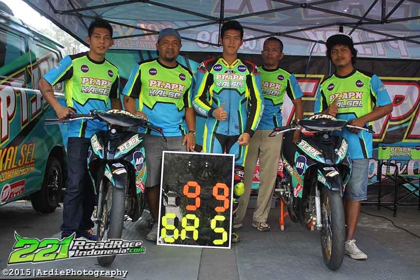 road race pembalap motoprix kalimantan 2015