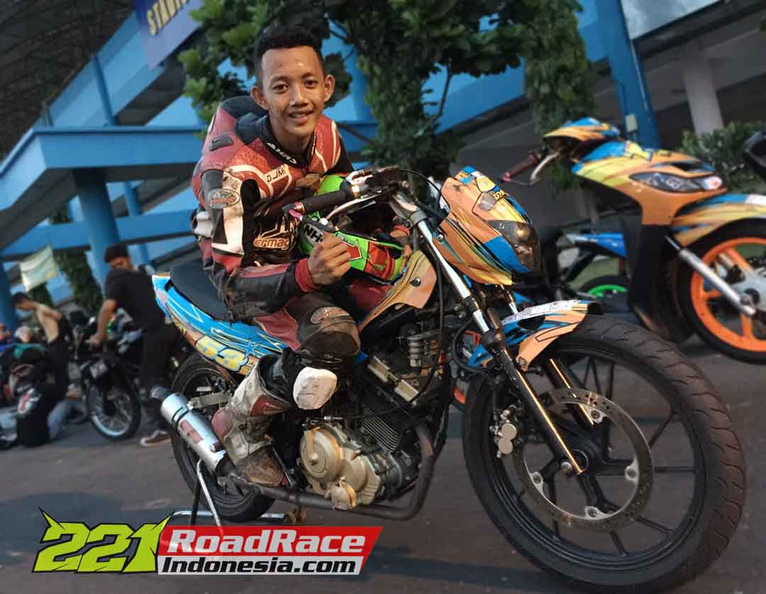 Gozy Fahrezi Motoprix Yogyakarta 2015 Maguwoharjo Road Race Indonesia