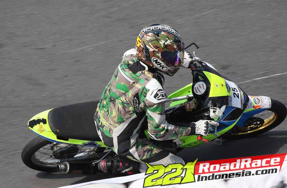 Hasil Kejurnas Motoprix 2015 Bima Octavianus finish 4 150 cc