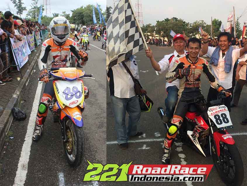 Honda New Sonic 150R Road Race Lawan Satria FU Jupiter MX