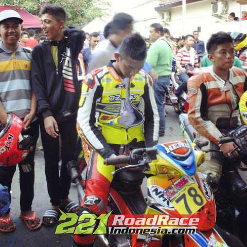 Road race indonesia Honda Grand 2015