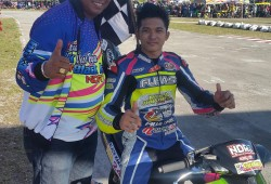Syahrul Amin Rajai Road Race Biak 2015